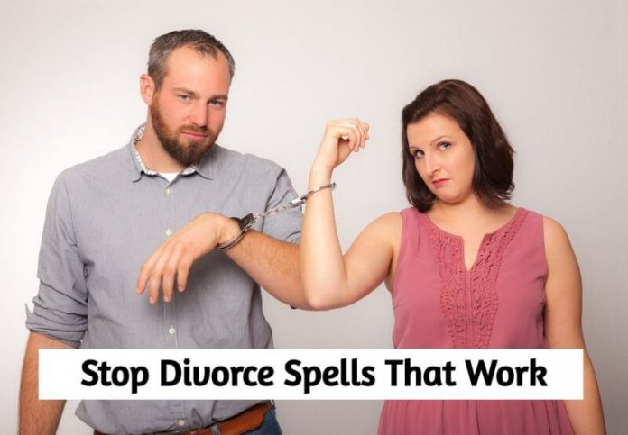 Stop divorce spells